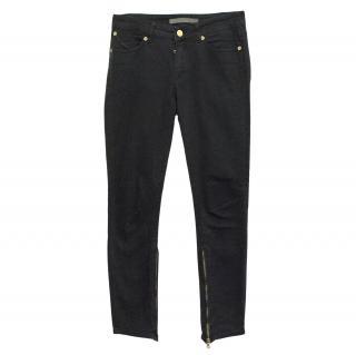 Superfine black skinny jean