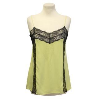 La Perla green camisole