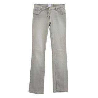 Sass & Bide grey straight leg jeans