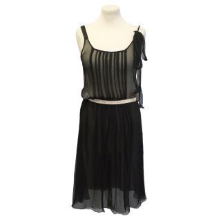Alessandro D'ell Aqua black dress