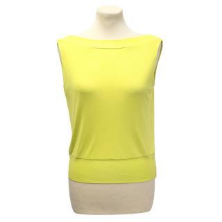 Emilio Pucci Yellow top