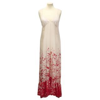 Diane Von Furstenberg and Andy Warhol silk dress