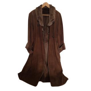 Amazing Saga mink reversible coat