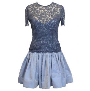 Georges Rech vintage blue dress