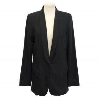 Sykes black blazer