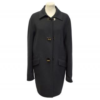 Salvatore Ferragamo Wool and Cashmere Duffle Coat