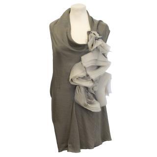 Vera Wang draped dress