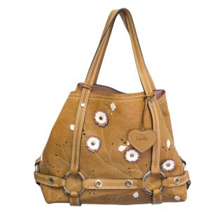 Luella tan handbag