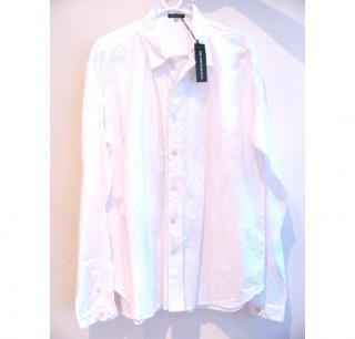 Ann Demeulemeester White French Knot Shirt