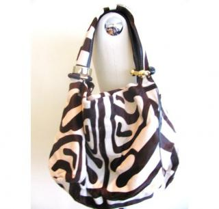 Jimmy Choo Never worn Zebra print Saba