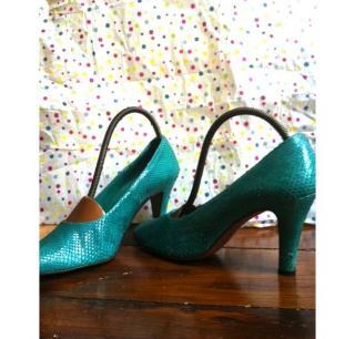 monolo blahnik Alligator Heels