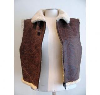Twenty8Twelve Leather & Sheepskin Gilet
