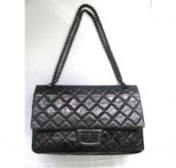 Chanel Limited Edition All Black 2.55 Classic