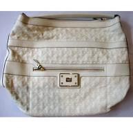 Anya Hindmarch Ivory Leather Handbag