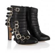 Bionda Castana Leather Ankle Boots