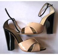 Giuseppe Zanotti new nude/black shoes