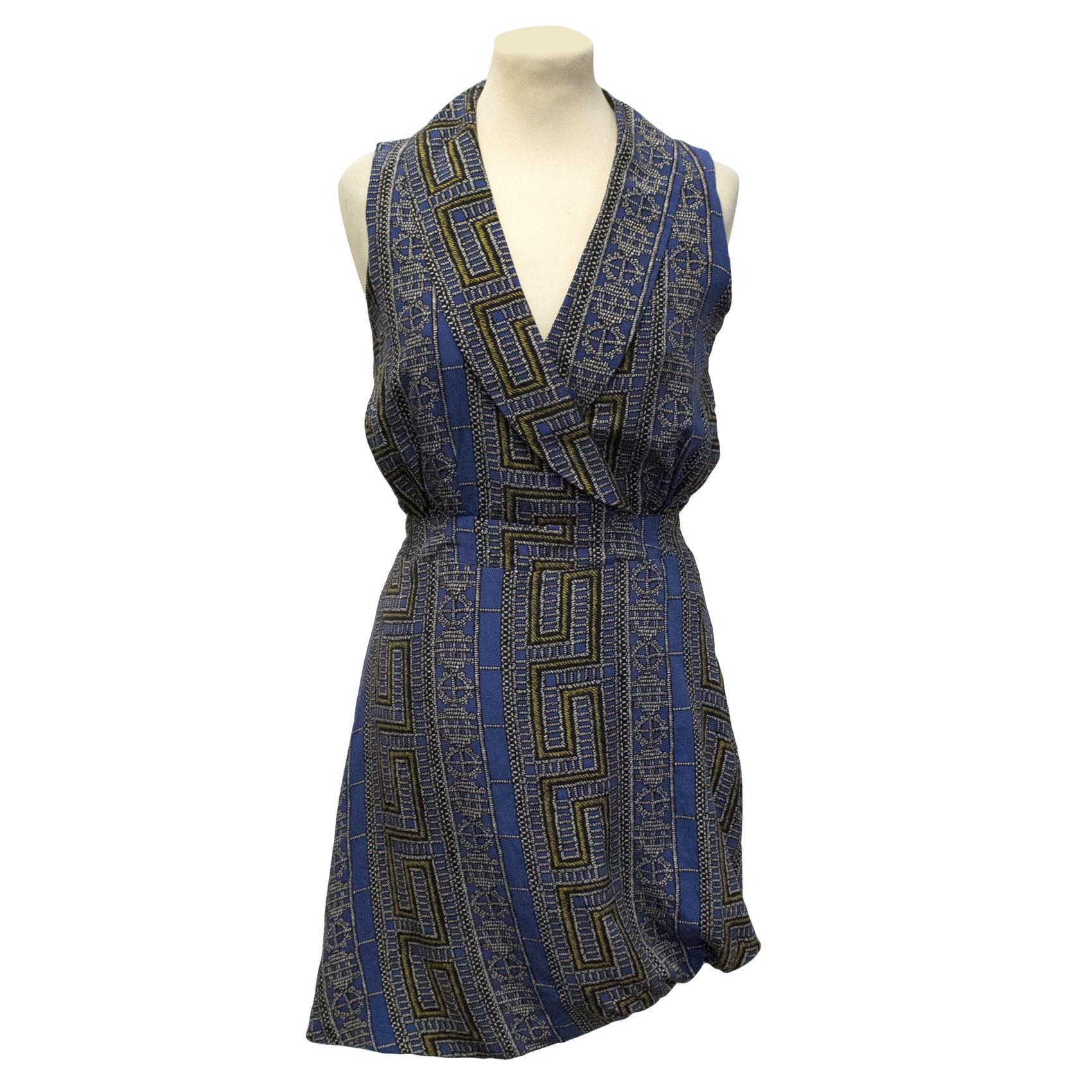 Sara Berman silk dress