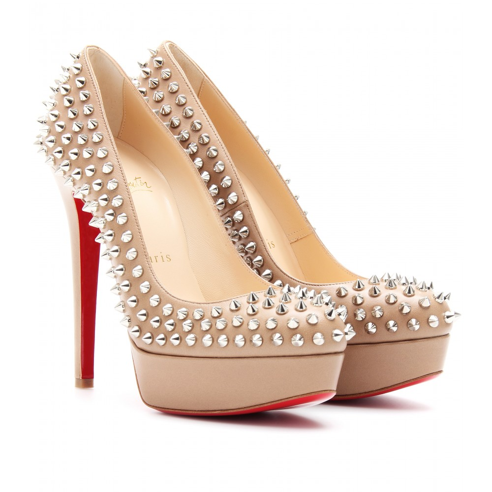 super popular 46af9 fa09e Christian Louboutin Bianca Spikes