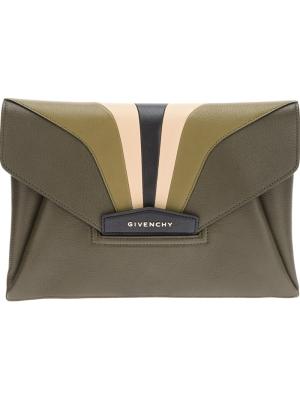 d31d00c1d3 Givenchy Antigona Leather Envelope Clutch | HEWI London