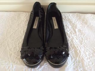 Marc Jacobs sequined ballet pumps