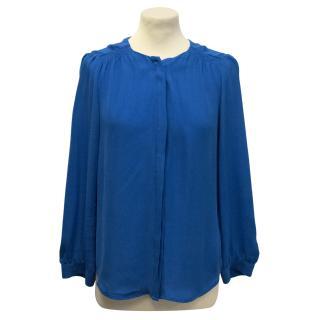 Joie blue shirt
