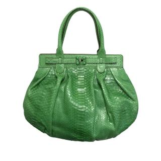 Zagliani green Puffy  bag