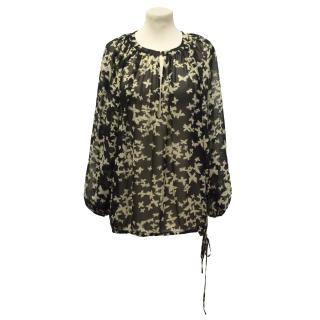 Paul & Joe sheer blouse