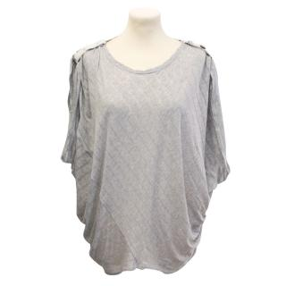 Hussein Chalayan grey loose t-shirt