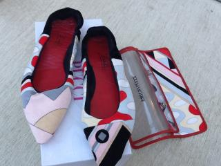 Emilio Pucci Travel Shoes / Slippers