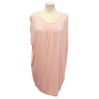 Designers Remix collection pale coral top