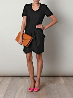 Jan Ahlgren Black Wool Dress
