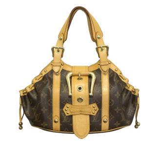 Louis Vuitton monogram buckle bag