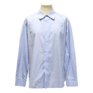 Yves Saint Laurent blue shirt