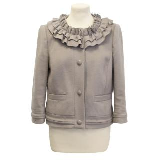 Juicy Couture pale brown jacket