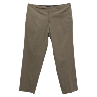 Prada dusky brown trousers