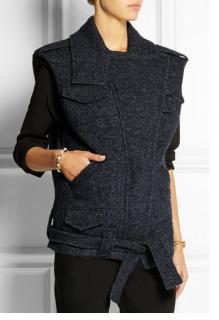 AW14 ISABEL MARANT Estelle wool-blend tweed gilet