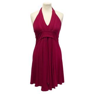 Celine jersey halterneck dress