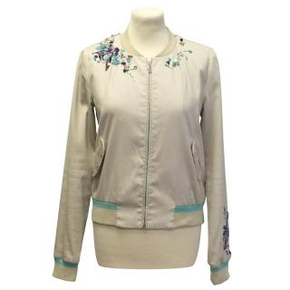 Escada Sport embellished bomber jacket
