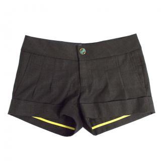 Park wool shorts