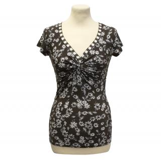Marc Cain stretch floral top