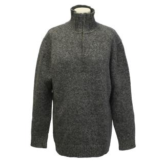 Jaeger wool knit jumper