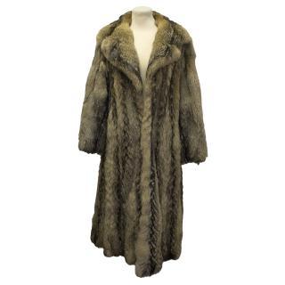 Rare fox fur coat