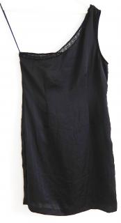American Retro one shoulder dress