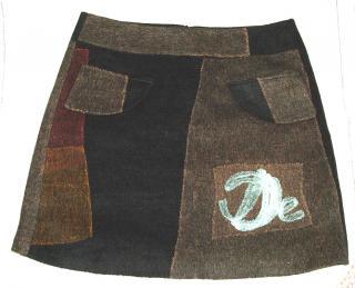 Desigual wool skirt, size 40