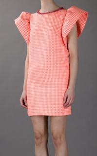 MSGM orange dress