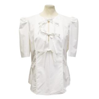 Carven white blouse