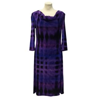 Issey Miyake velvet dress