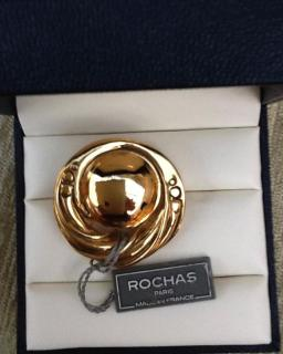 Rochas Paris Vintage New Brooch