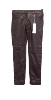 Stefanel leather trousers