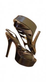 Gucci Python heels
